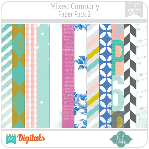 Mixed Company Paper Pack 2