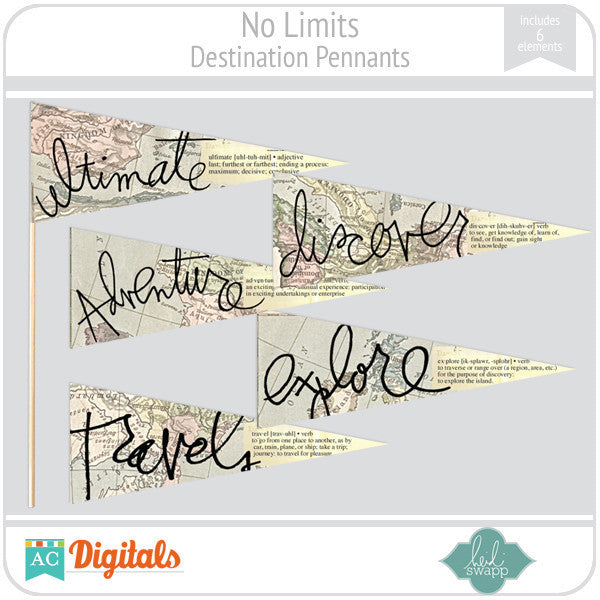 No Limits Destination Pennants