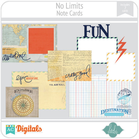 No Limits Note Cards