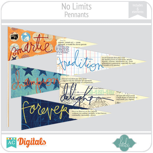 No Limits Pennants