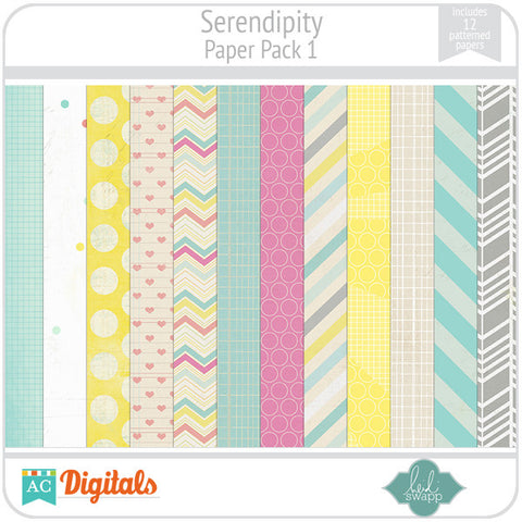 Serendipity Paper Pack 1