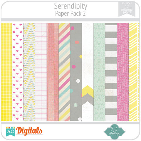 Serendipity Paper Pack 2