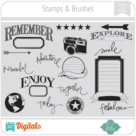 Stamps & Brushes