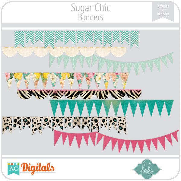 Sugar Chic Banners