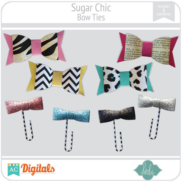 Sugar Chic Bow Ties