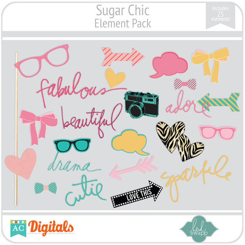 Sugar Chic Element Pack
