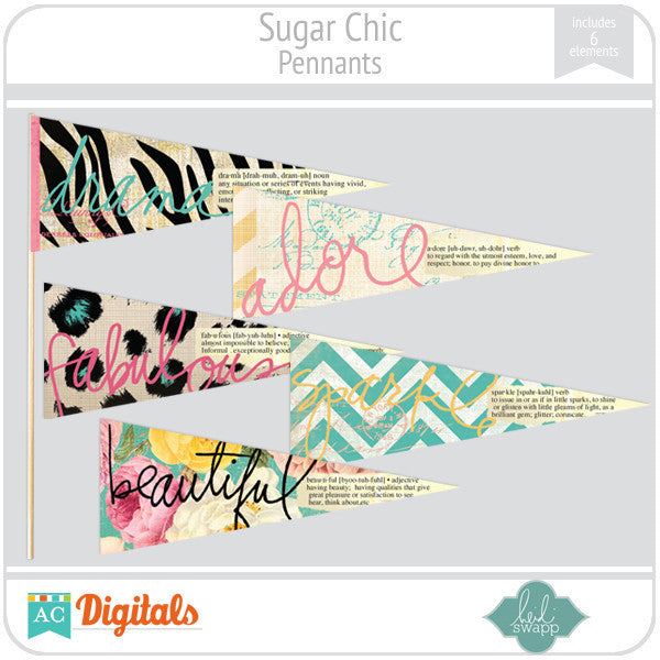 Sugar Chic Pennants