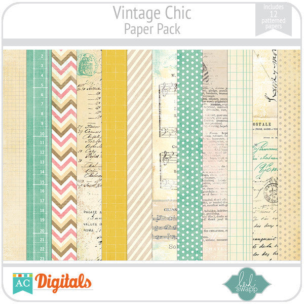 Vintage Chic Paper Pack