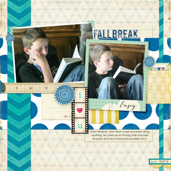 Layout by Creative Team Member Jaime Ward
