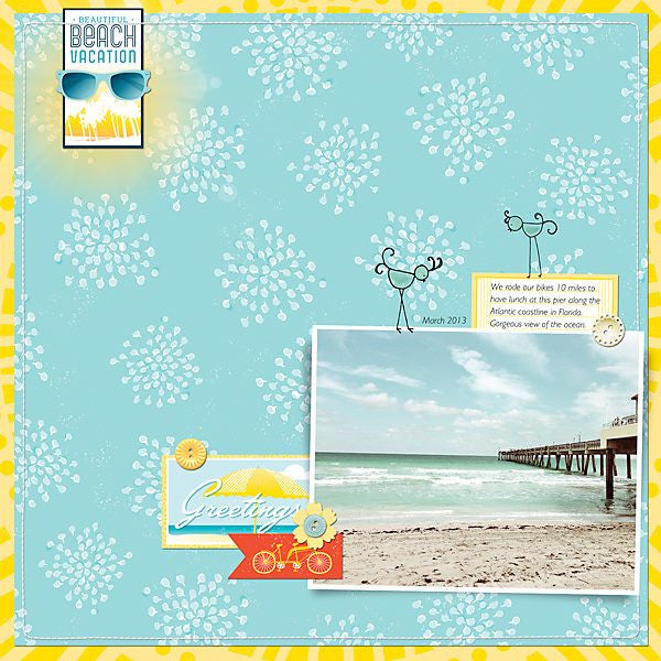 Layout by Creative Team Member Miki Krueger (additional supplies used from Liv.Edesigns, Designs by Dani, and Anna Aspnes)