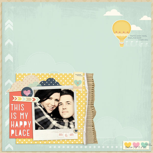 Layout by Creative Team Member Mindy Pitcher