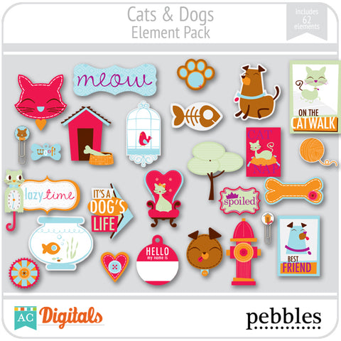 Cats & Dogs Element Pack