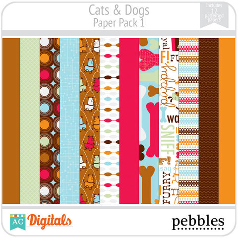 Cats & Dogs Paper Pack #1