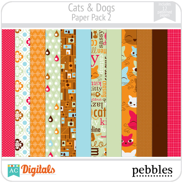 Cats & Dogs Paper Pack #2