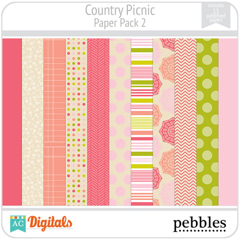 Country Picnic Paper Pack #2