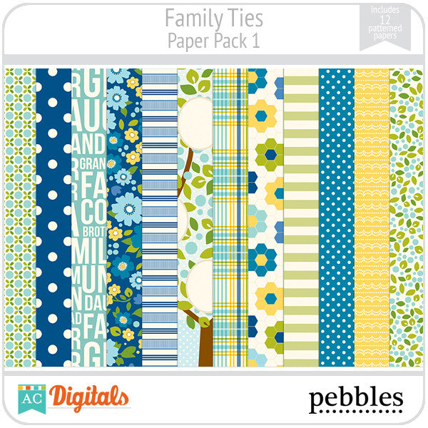 Family Ties Paper Pack #1