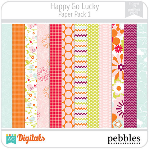 Happy Go Lucky Paper Pack #1