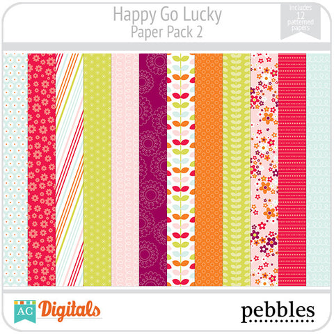 Happy Go Lucky Paper Pack #2