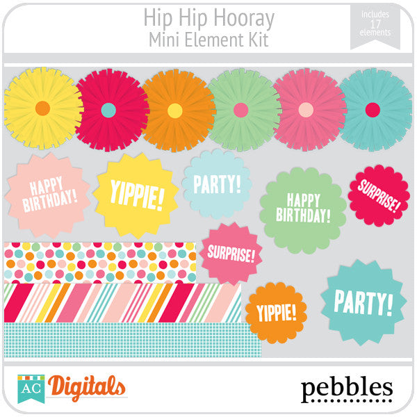 Hip Hip Hooray Mini Element Kit