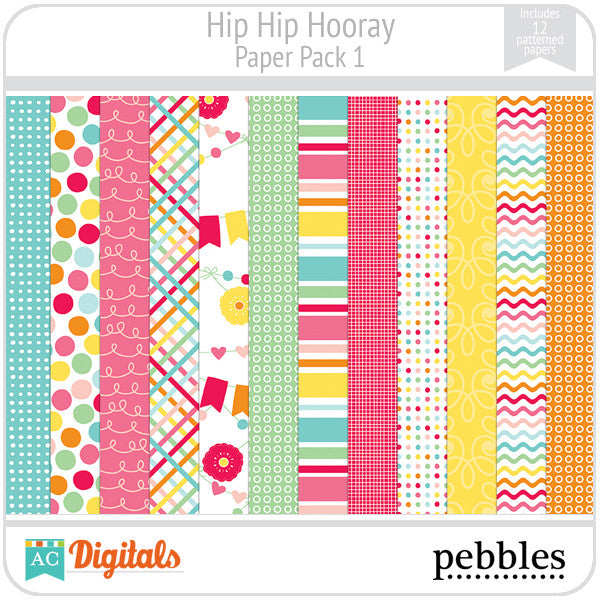 Hip Hip Hooray Paper Pack #1