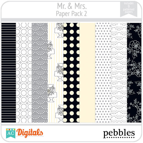 Mr & Mrs Paper Pack #2