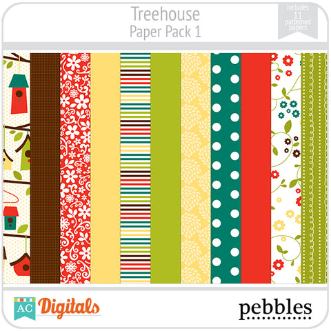 Treehouse Paper Pack #1