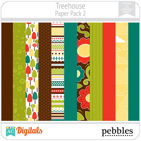 Treehouse Paper Pack #2
