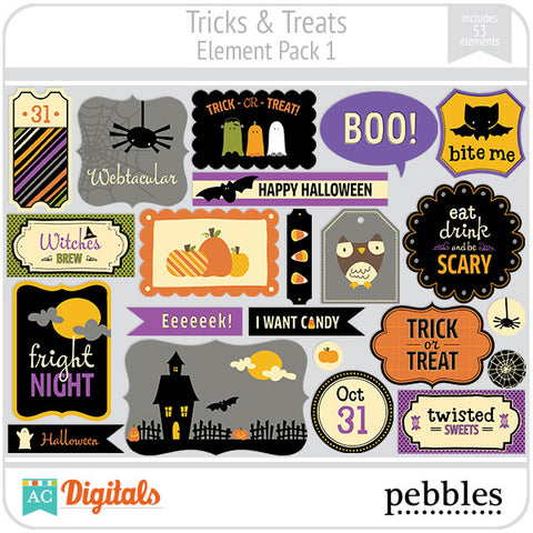 Tricks & Treats Element Pack #1