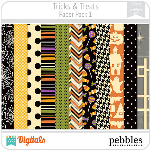 Tricks & Treats Paper Pack #1