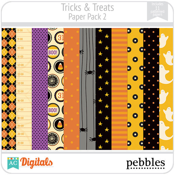 Tricks & Treats Paper Pack #2