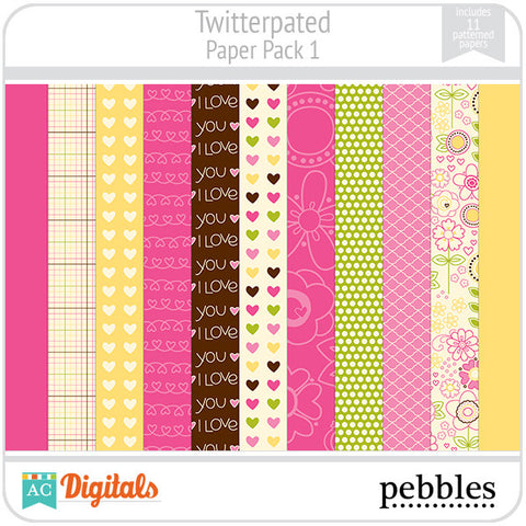Twitterpated Paper Pack #1