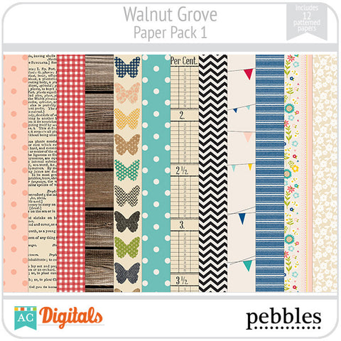 Walnut Grove Paper Pack #1
