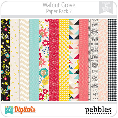 Walnut Grove Paper Pack #2