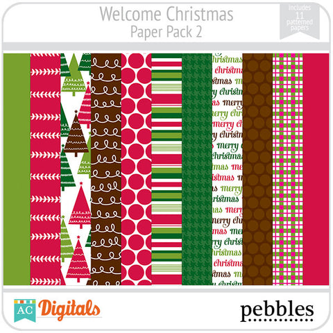 Welcome Christmas Paper Pack #2