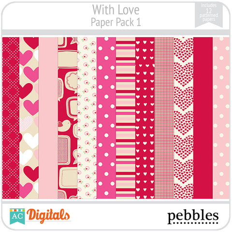 With Love Paper Pack #1