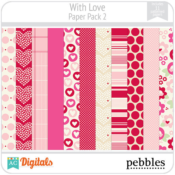 With Love Paper Pack #2