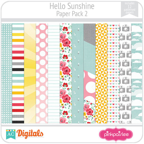 Hello Sunshine Paper Pack 2