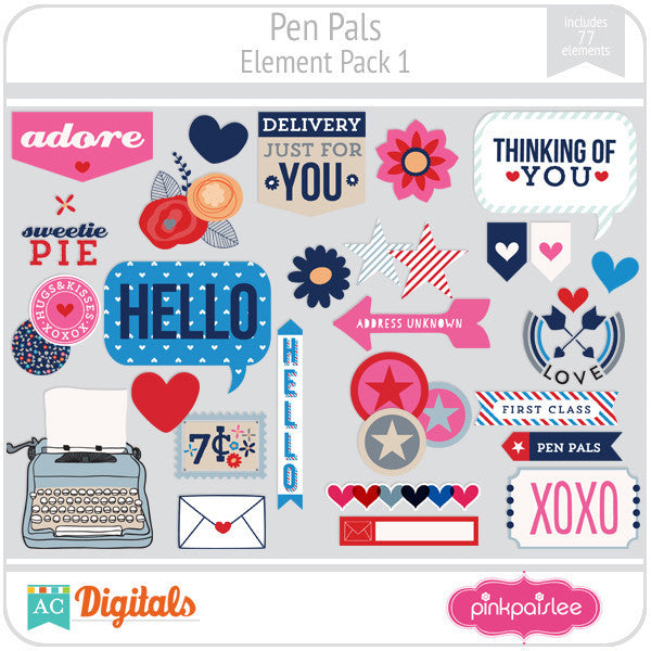Pen Pals Element Pack 1