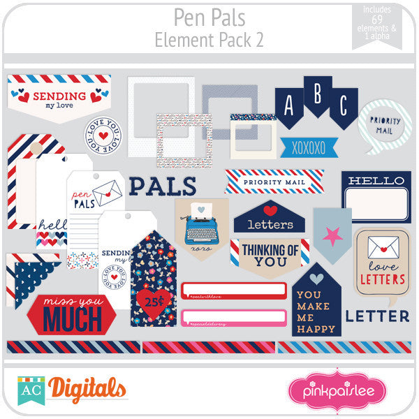 Pen Pals Element Pack 2