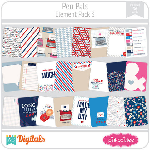 Pen Pals Element Pack 3