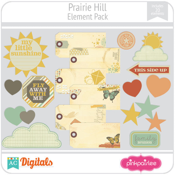 Prairie Hill Element Pack