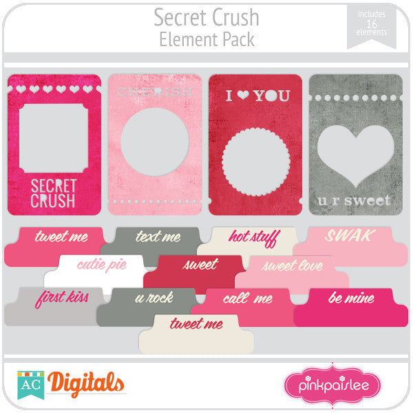 Secret Crush Element Pack