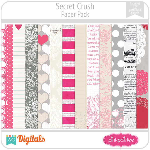 Secret Crush Paper Pack