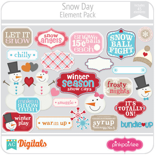 Snow Day Element Pack