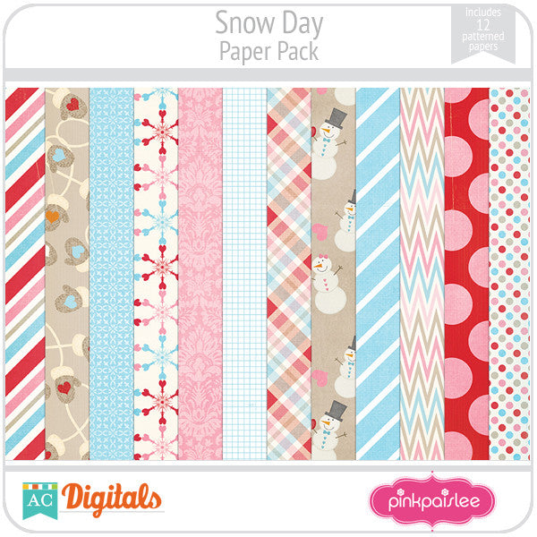 Snow Day Paper Pack
