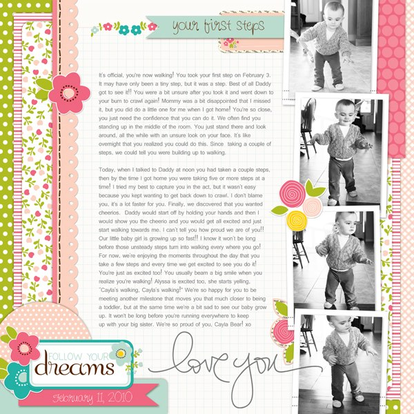 Layout by Creative Team Member Sherri Horton