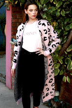 Load image into Gallery viewer, Pink Leopard Cardi