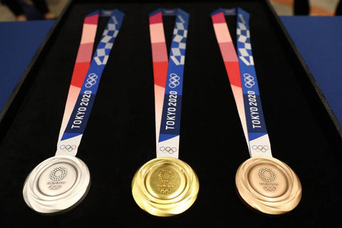 2020 recycled olympic medals