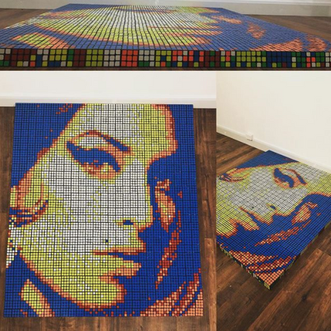 amy winehouse rubiks cube