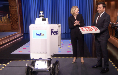 jimmy fallon pizza robot
